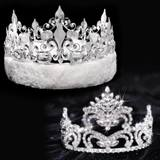 Penelope Tiara and Crown Set - Fleur-de-Lis
