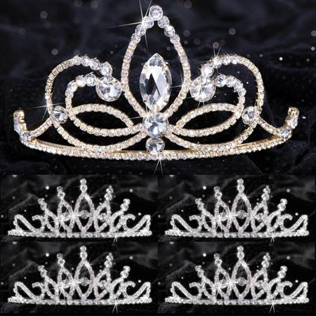Queen and Court Tiara Set - Ariana and Bobbi