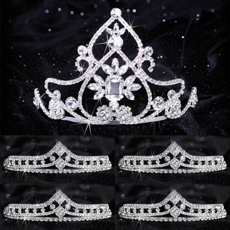 Queen and Court Tiara Set - Kate and Cleo