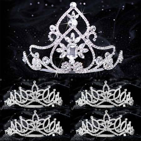Queen and Court Tiara Set - Kate and Amara