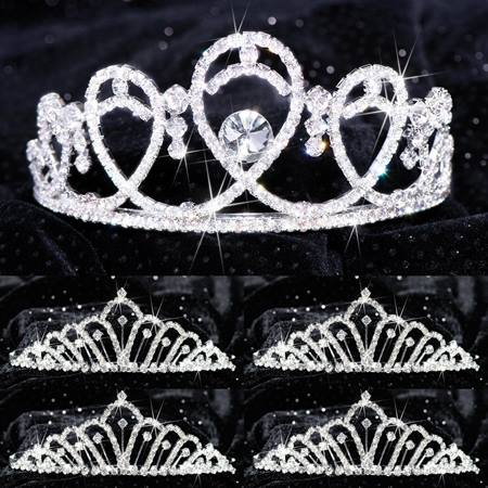 Queen and Court Tiara Set - Kendall and Karen
