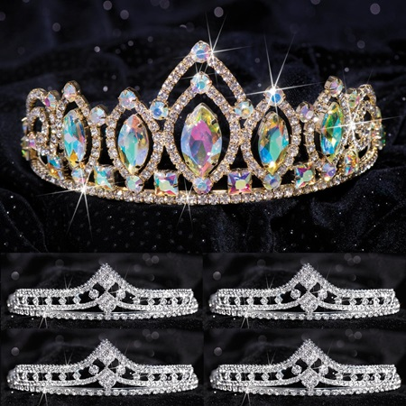 Queen and Court Tiara Set - Meghan and Cleo