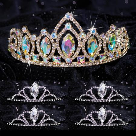 Queen and Court Tiara Set - Meghan and Black Vicky