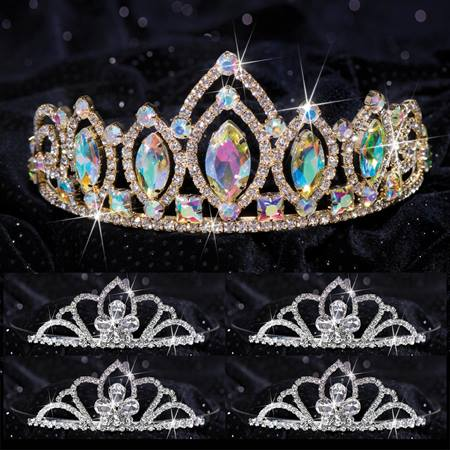 Queen and Court Tiara Set - Meghan and Kayla