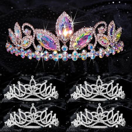 Queen and Court Tiara Set - Taylor and Amara