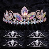 Queen and Court Tiara Set - Taylor and Black Vicky