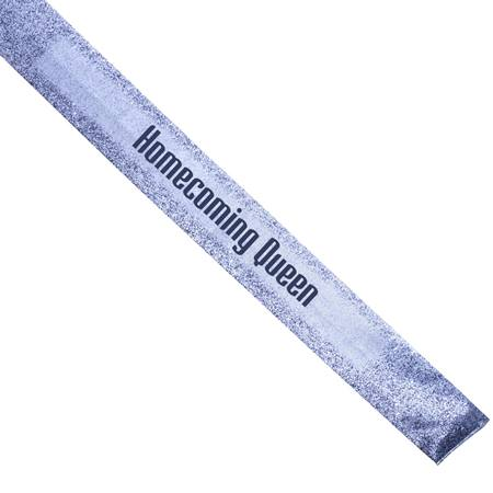 Full-color Sash - Silver Dust