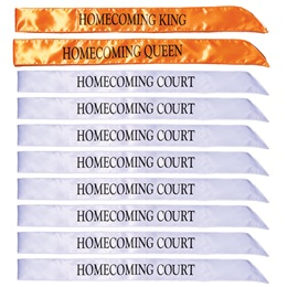 Homecoming Sashes