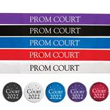 Prom Court Sash and Button Set