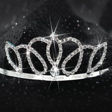 1 1/2 in Prom Queen Band Tiara