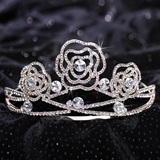 Rose Tiara - Rose Metal