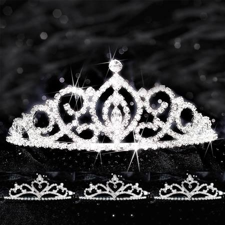 Queen and Court Tiara Set - Cameo Perfect and Alisa