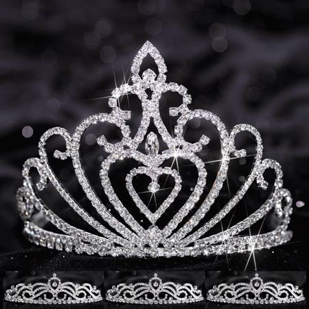 Queen and Court Tiara Set - Celia and Ruby