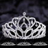 Four-piece Tiara Set - Mirabella Queen and Sissy Court