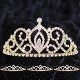 Queen and Court Tiara Set - Gold Cameo Perfect and Sissy