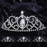 Queen and Court Tiara Set - Black Vanessa and Vicky