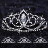 Queen and Court Tiara Set - Black Valerie and Kayla