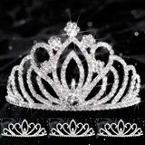Queen and Court Tiara Set - Zahara and Armani