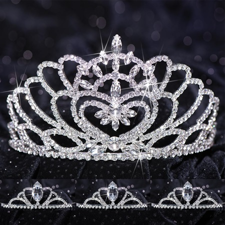 Queen and Court Tiara Set - Marissa and Vicky