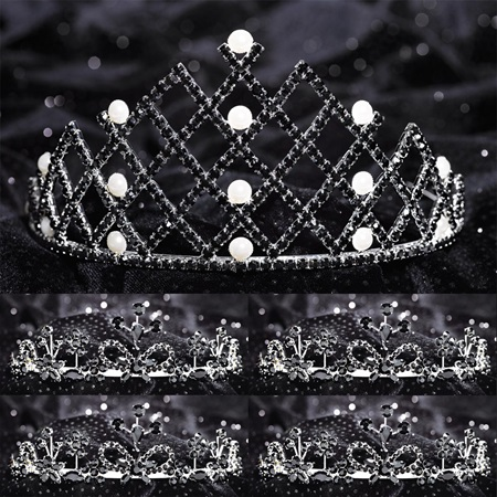 Tiara Set - Nakoma Queen and Shenzi Court