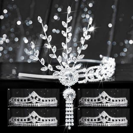Tiara Set - Silver Daisy Queen and Cleo Court
