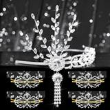 Tiara Set - Silver Daisy Queen and Gold Alisa Court