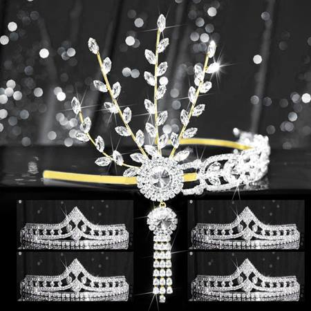 Tiara Set - Gold Daisy Queen and Cleo Court