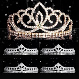 Tiara Set - Gold Sasha Queen and Cleo Court