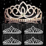 Tiara Set - Gold Sasha Queen and Karen Court