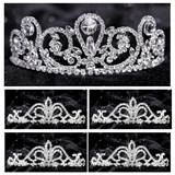 Tiara Set - Esmeralda Queen and Arilda Court