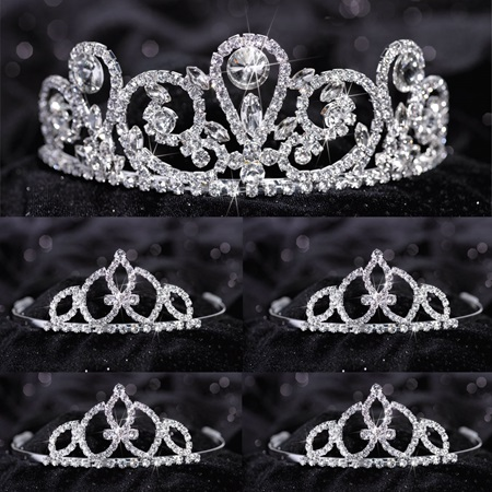 Tiara Set - Esmeralda Queen and Francine Court