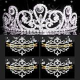 Tiara Set - Esmeralda Queen and Gold Alisa Court