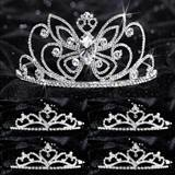Tiara Set - Monarch Queen and Gold Alisa Court