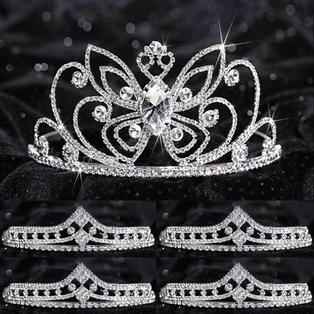 Tiara Set - Monarch Queen and Cleo Court