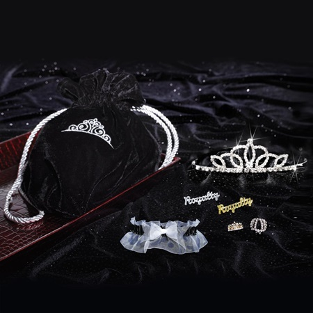 VIP Royalty Set With Lady-in-Waiting Tiara
