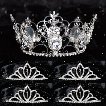 Tiara Set - Kimberli Queen and Chelsey Court