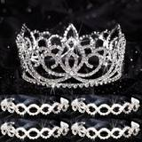 Tiara Set - Sasha Queen and Ariel Court