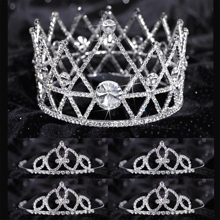 Tiara Set - Anastasia Queen and Francine Court