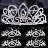 Tiara Set - Adele Queen and Amara Court