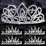 Tiara Set - Adele Queen and Bobbi Court
