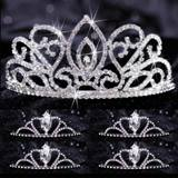 Tiara Set - Adele Queen and Black Vicky Court
