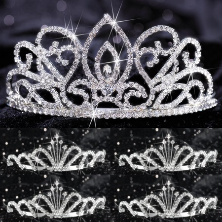 Tiara Set - Adele Queen and Emme Court