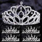 Tiara Set - Mirabella Queen and Bobbi Court