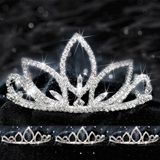 Four Piece Tiara Set - Natalia Queen and Saba Court