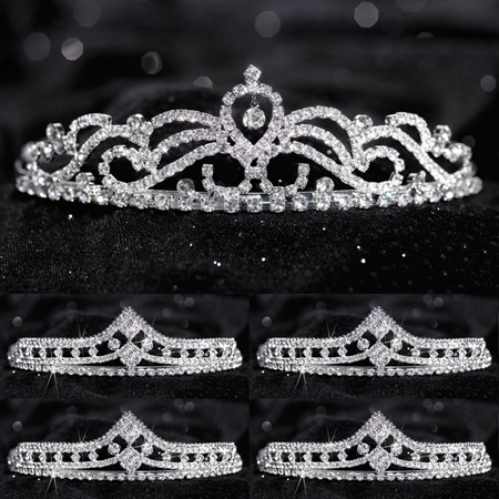 Tiara Set - Ruby Queen and Cleo Court