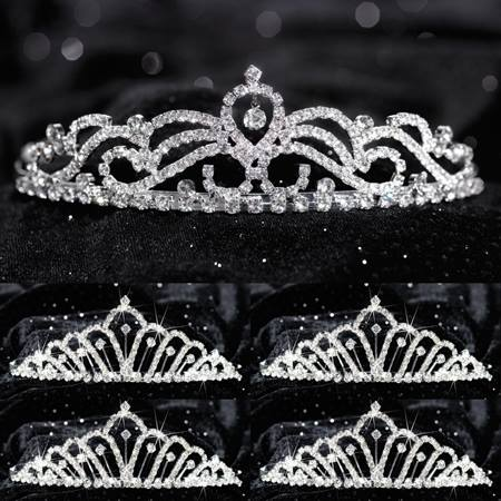 Tiara Set - Ruby Queen and Karen Court