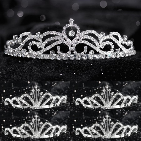 Tiara Set - Ruby Queen and Emme Court
