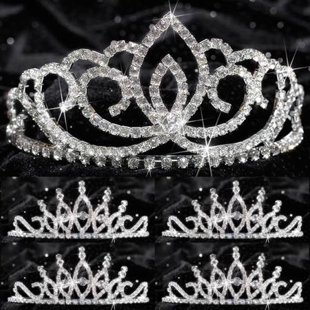 Tiara Set - Sasha Queen and Bobbi Court