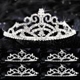 Five-piece Tiara Set - Titania Queen and Alisa Court