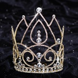 Gold Lexie Majestic Tiara